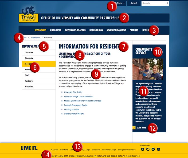 Fonts for Digital Media   Identity   Drexel University