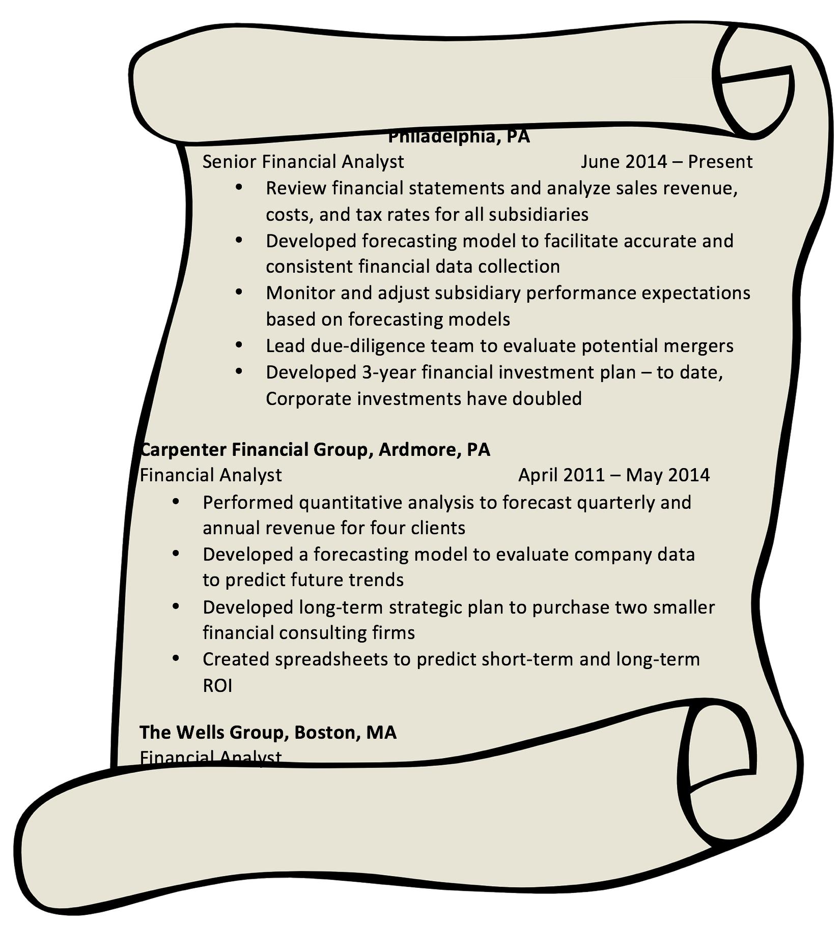 master resume drexel goodwin