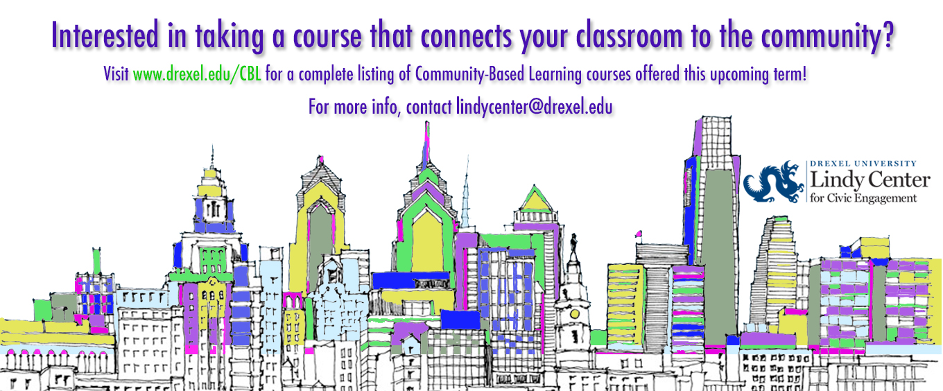 picture of community based learning flyer