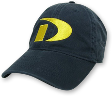 Baseball Cap with retro Drexel D Logo