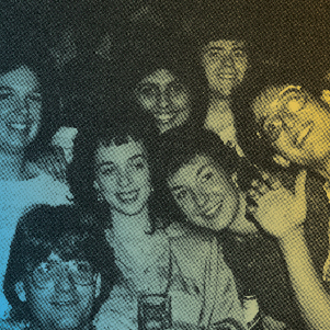 Group of students from Class of 1988