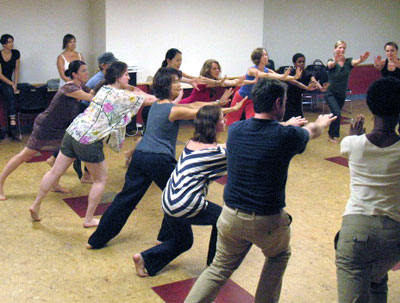 dance movement therapy student workshop