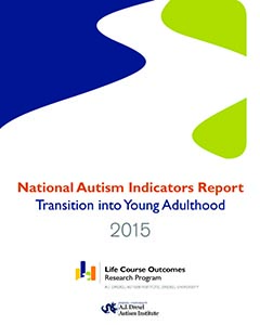Key Findings From National Longitudinal >> National Autism Indicators Report Transition Into Young Adulthood