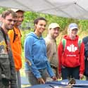 Students with artifacts at DESLA 2013