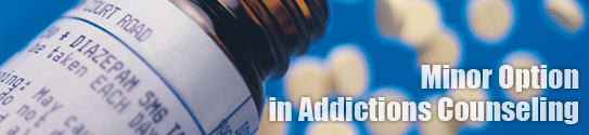 BHC Addictions Minor banner