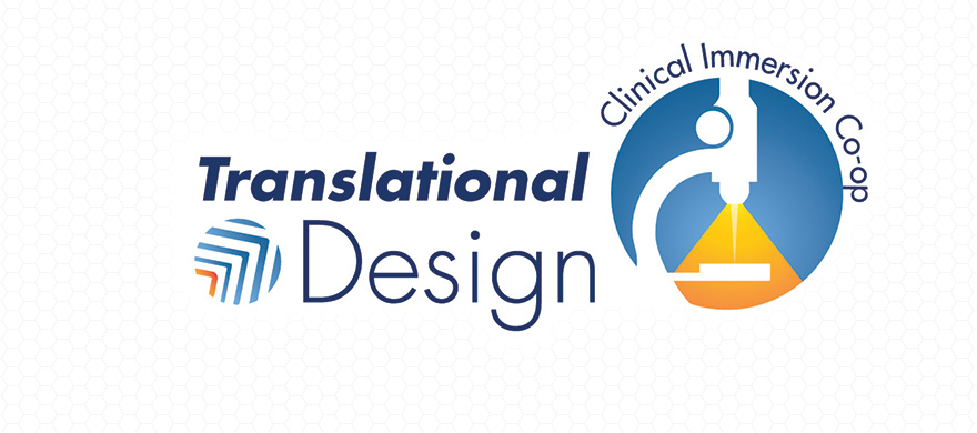 Translational Design Clinical Immersion Co-op Program Logo