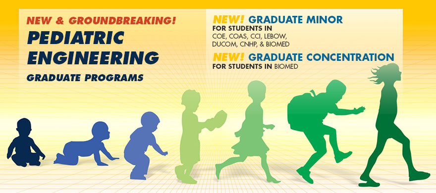 New! Pediatric Engineering Graduate Programs