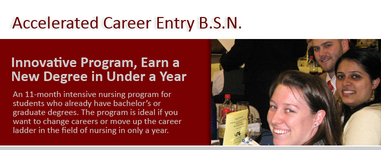 Accelerated Career Entry BSN