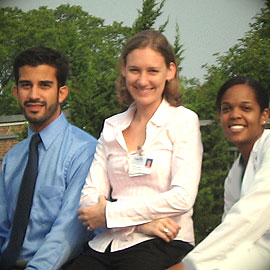 racially diverse nursing students