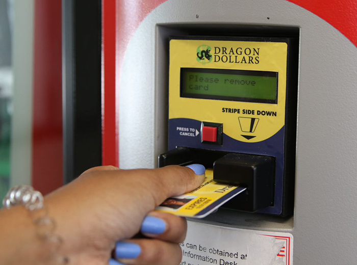 dragoncard vending use
