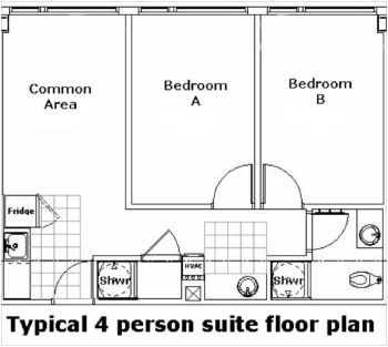 Race Street Residence Hall Floor Plan