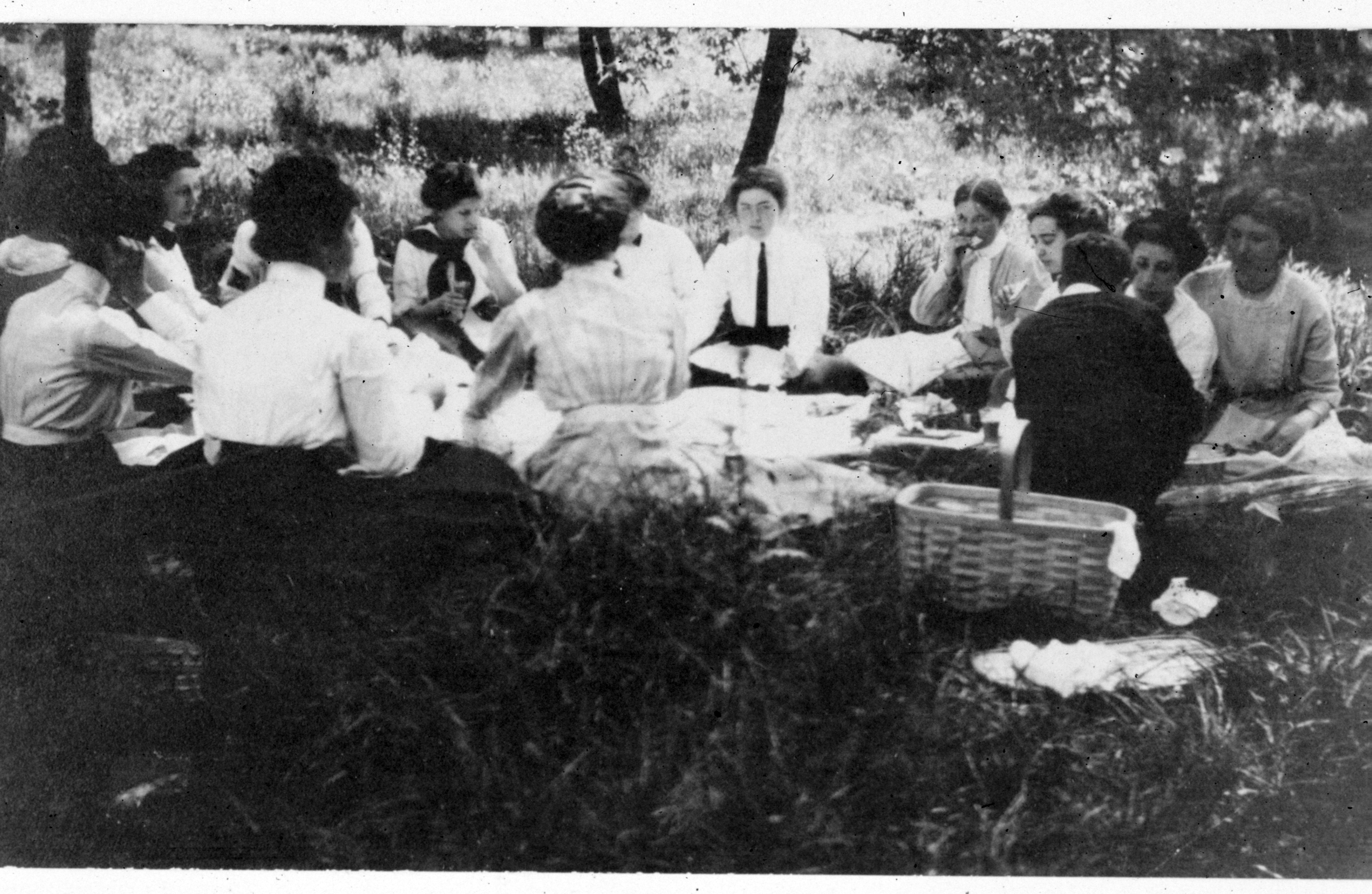 Valley Forge Picnic 1911 Drexel
