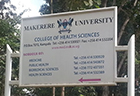 Makarere University sign