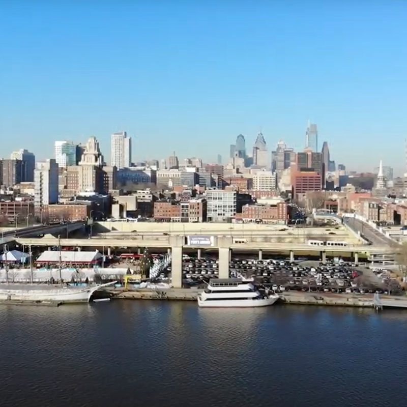 Photo of Philadelphia skyline