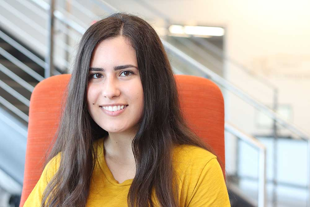 Anca Scarlat, President of the Drexel Blockchain club