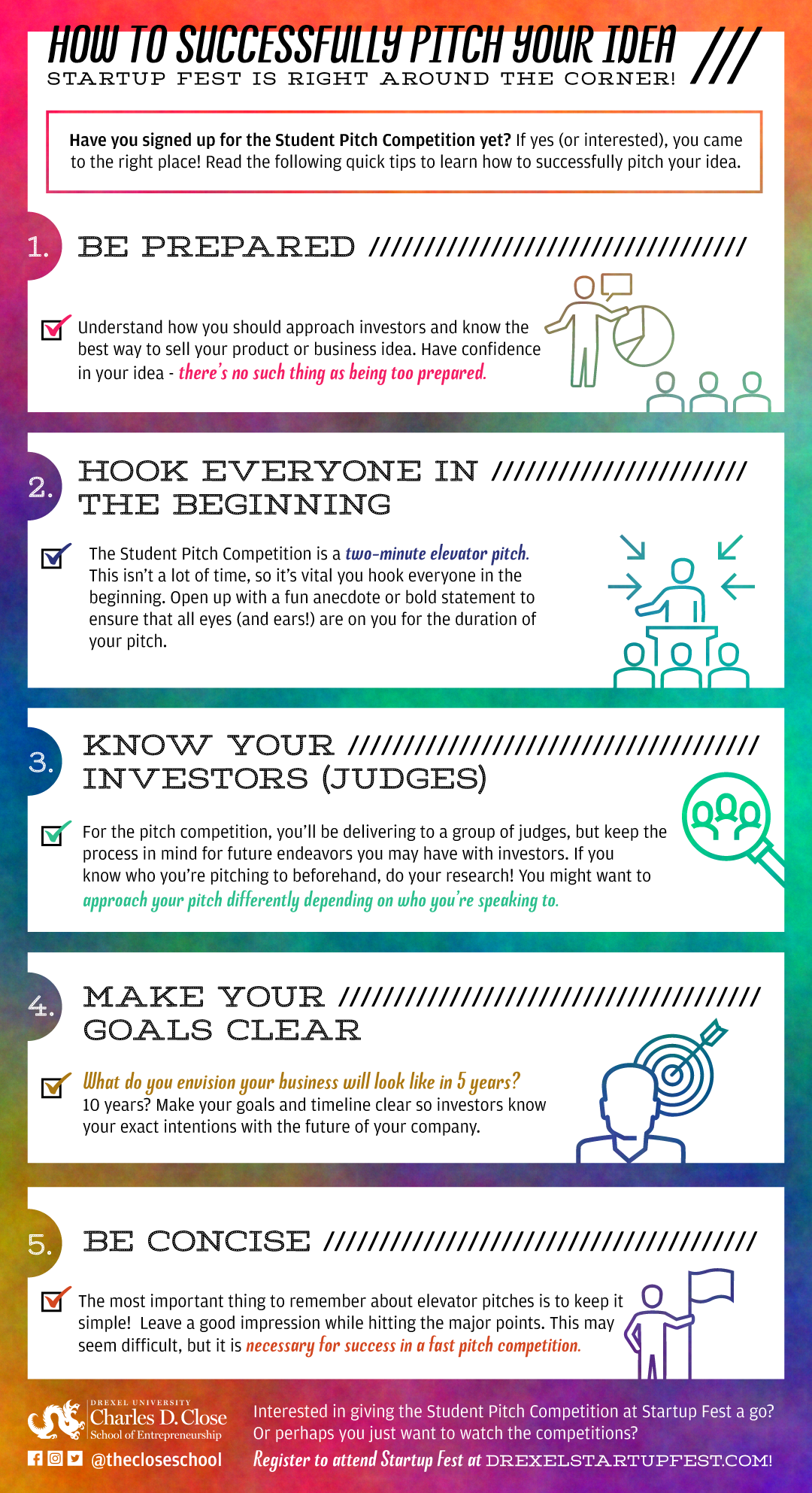 how to successfully pitch your idea | close school of