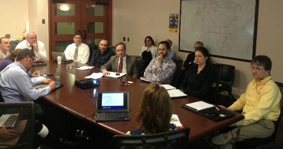 The inaugural meeting of the Close School's Internal Advisory Board.