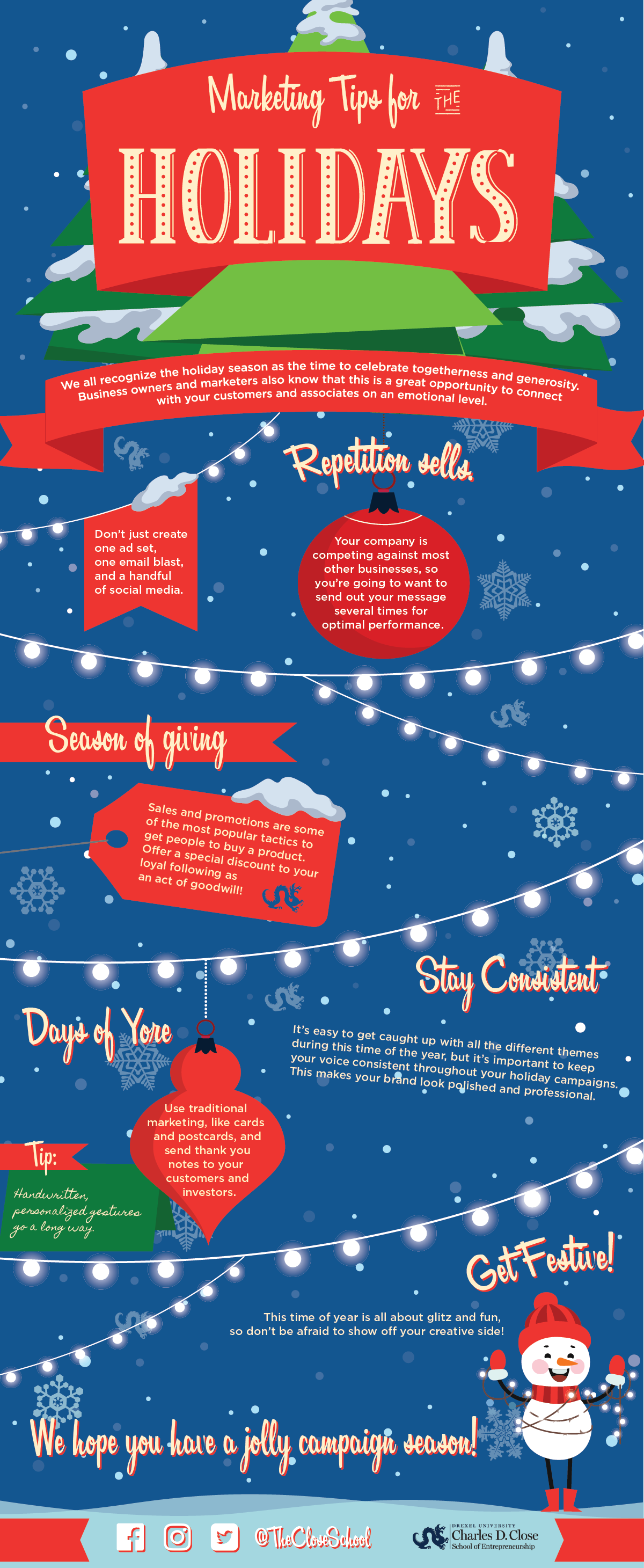 Marketing Tips for the Holidays