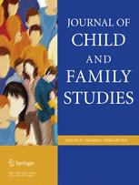 Journal of Child and Family Studies cover