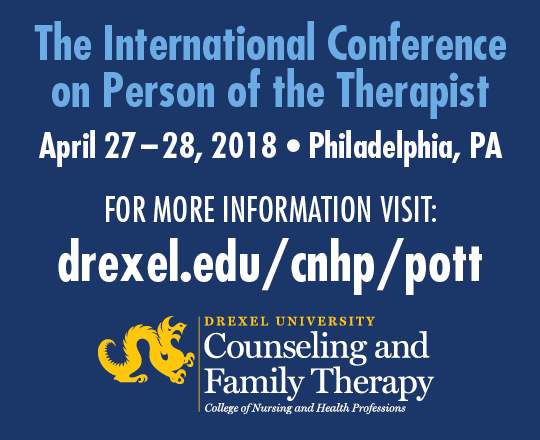 Ad for Person of the Therapist International Conference