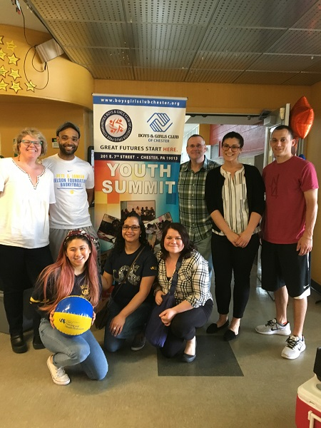 Drexel students and staff volunteer for the Pete and Jameer Nelson Foundation