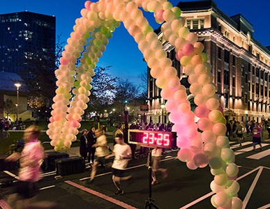 Image of Glow Run 5K race