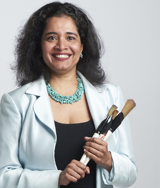 Girija Kaimal, EdD, an assistant professor in PhD program in creative arts therapies