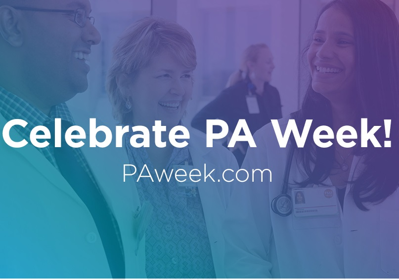Celebrate Physician Assistants Week