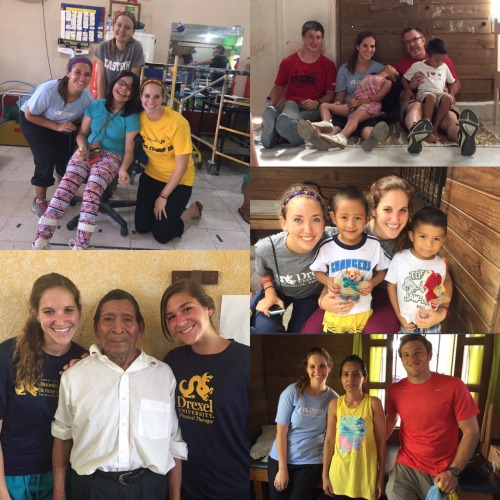 Physical therapy students on their annual service trip to Guatemala
