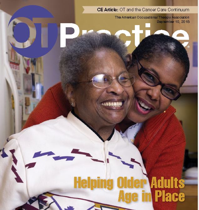Cover of OT Practice of the American Occupational Therapy Association