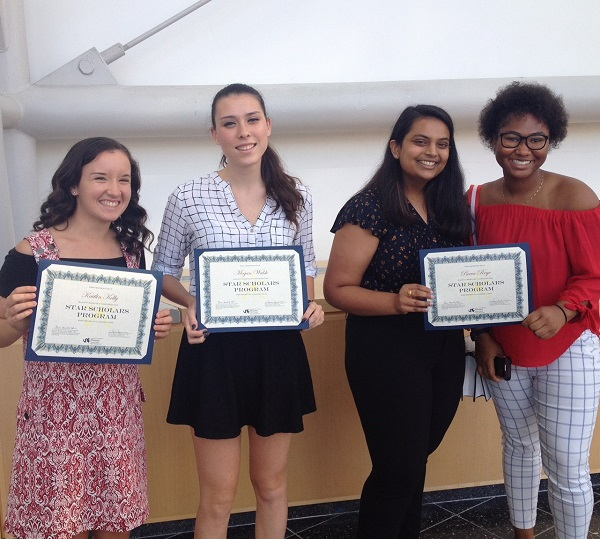 STAR Scholars who presented at Scholars Summer Showcase