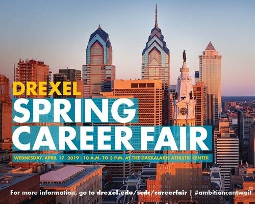 Drexel Spring Fair photo of Philadelphia skyline