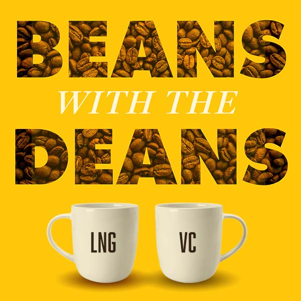 Beans with the Deans Coffee Cups