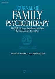 Journal of Family Psychotherapy cover