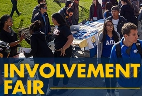 Student Involvement Fair image