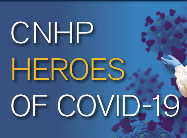 CNHP Heroes of COVID-19 graphic