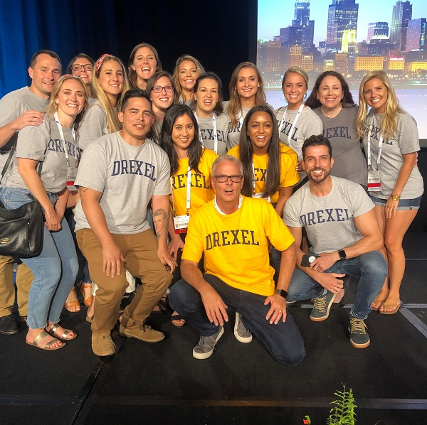 CNHP second-year students at the College Bowl at the 2019 AANA Annual Congress in Chicago.
