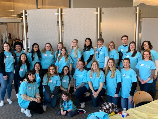 Nutrition Sciences Department students volunteering at the annual Celiac Disease Education Day at Children's Hospital of Philadelphia