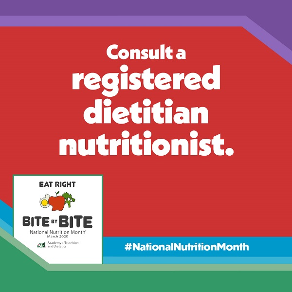 National Nutrition Month Bite by Bite Tip #4 Graphic