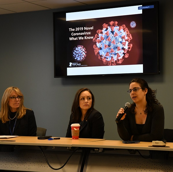 Tuesday Topic Panel discussing coronavirus pandemic best practices