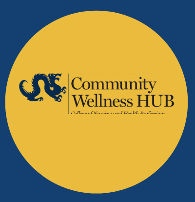 Community Wellness HUB Virtual Health and Wellness Chat graphic