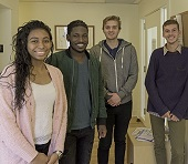 Students who work at the Community Wellness HUB