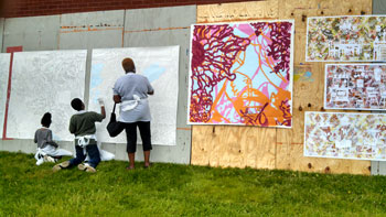 11th Street Hosts Painting a Healthy City