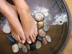 Aroma Therapy Pebble Foot Massage