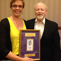 Joke Bradt Receives AMTA 2014 Research Award