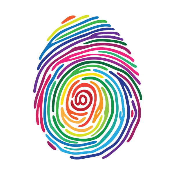 Board of Diversity, Equity, and Inclusion thumbprint graphic