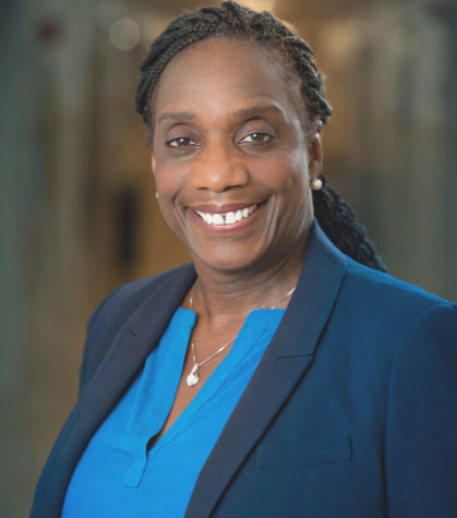 Stephanie Brooks, PhD, senior associate dean for Health Professions and Faculty Affairs at Drexel University's College of Nursing and Health Professions. Photo from Gustavo Garcia.
