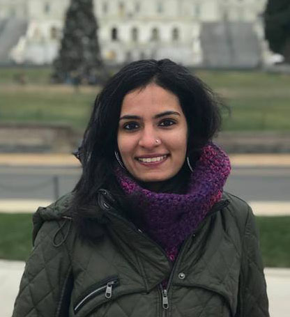Bani Malhotra, MA, ATR, a doctoral student in Creative Arts Therapies