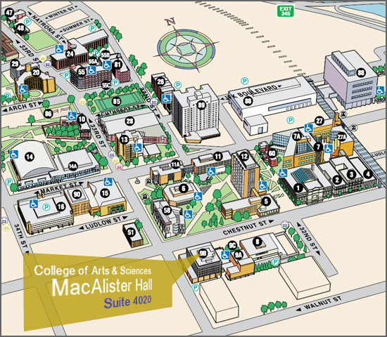 CoAS Building and Map