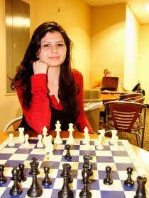 Alisa Melekhina Chess Winner